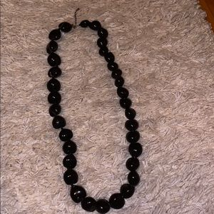 Black womens necklace